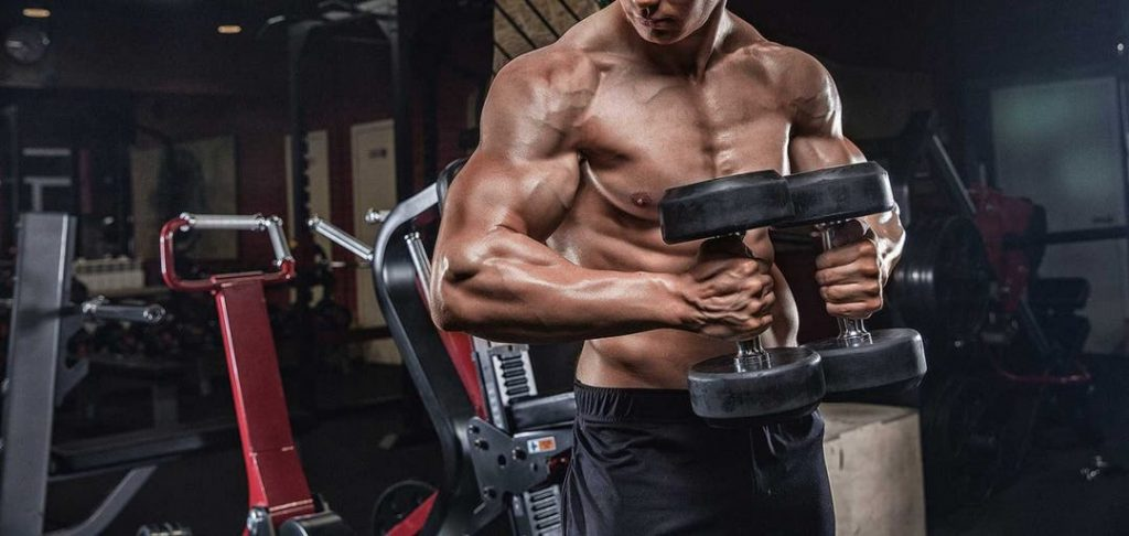 How to bulk up pectoral muscles with dumbbells