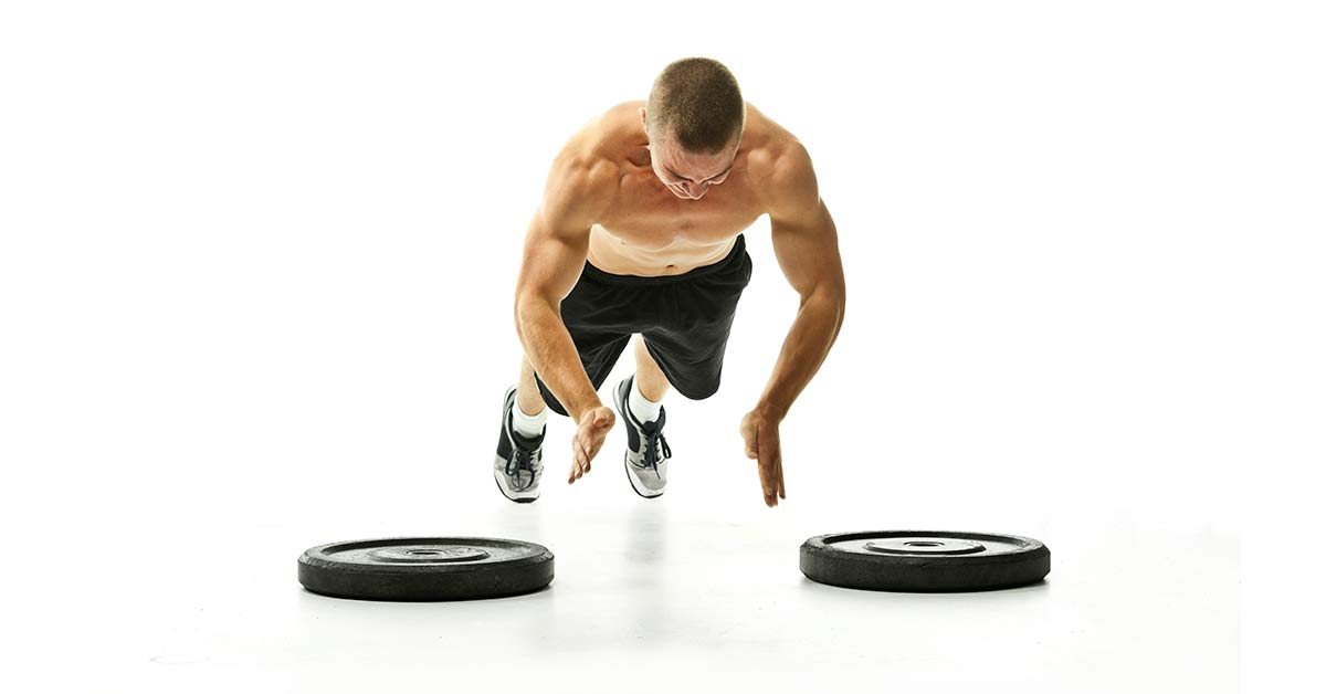 Plyometric push-ups for strength